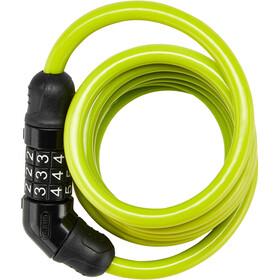 ABUS Star 4508C Candado de cable espiral 150cm, verde